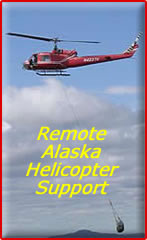 Remote Alaska Helicopter Support!